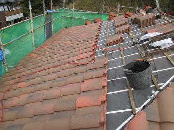 勾配屋根,屋根断熱,隅棟