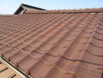 切妻屋根,水切板金,藤井製瓦工業