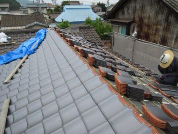 軽量屋根,経年劣化,藤井製瓦工業