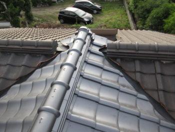 シリコン塗装,棟換気,藤井製瓦工業
