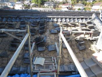 古瓦,ケラバ,屋根工事