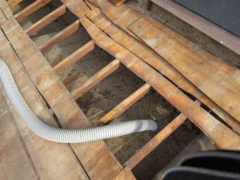小屋裏換気,風災補償,高圧洗浄