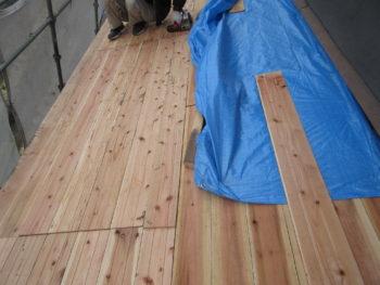 防水シート,破風板塗装,雨仕舞