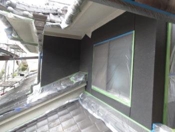 シリコン塗料,養生ネット,防水効果