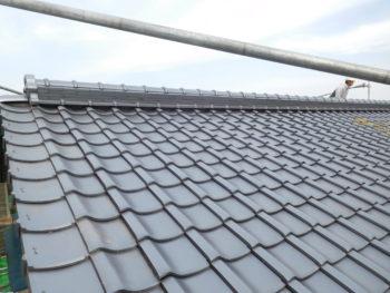 垂木交換,屋根板補修,台面糸張り