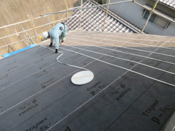ルーフィング,屋根塗装,藤井製瓦工業