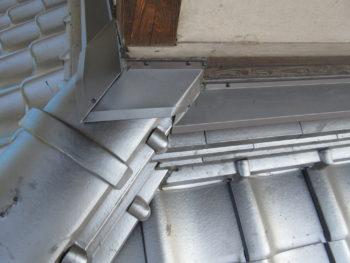 壁際の仕上がり,雨仕舞,藤井製瓦工業
