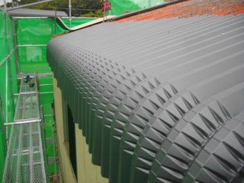 軒先,カバー工法,ガルバリウム鋼板