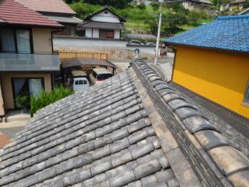 屋根点検,雨漏り調査,大棟補修