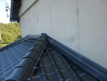 防水処理,壁際の雨押え,水切板金
