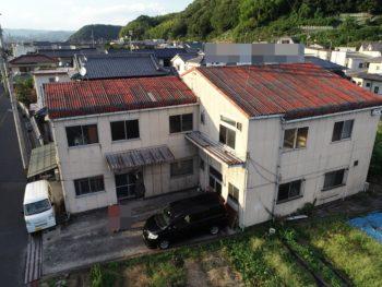 建物老朽,外装劣化,ドローン撮影