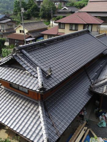 屋根リフォーム,三州産釉薬瓦,耐震性向上