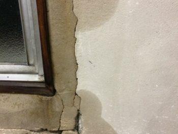 雨染み,外壁補修,雨水侵入