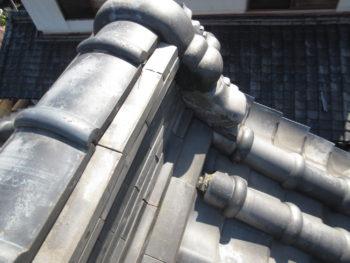 風切り丸瓦,瓦のズレ,雨漏り原因