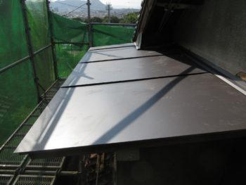 板金庇,ガルバリウム鋼板,耐久性向上