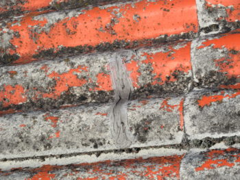 スレートのひび割れ,経年劣化,屋根工事