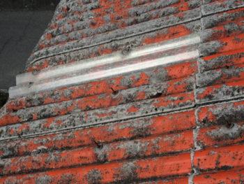 屋根補修,雨漏り原因,塗膜剝離