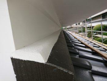 壁際水切,雨押え水切,防水処理