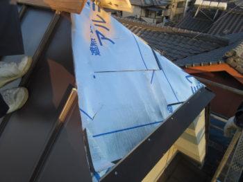 遮熱ルーフィング,室温上昇防止,太陽熱反射