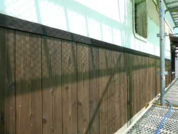 杉板張り,なまこ壁復元,福山市