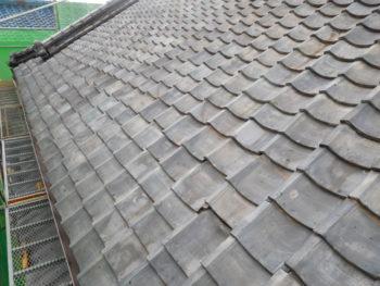 屋根調査,瓦のズレ,経年劣化