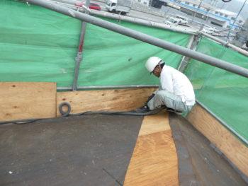下地板,屋根補修,瓦職人