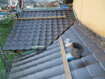 谷板交換,板金工事,下屋根