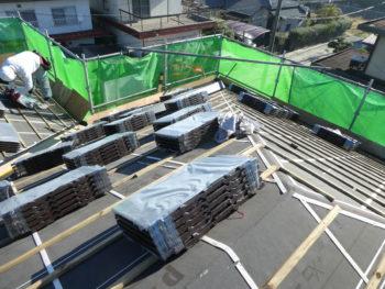 瓦上げ,ROOGA鉄平,軽量屋根材
