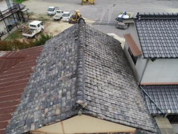 屋根調査,ドローン調査,上空写真