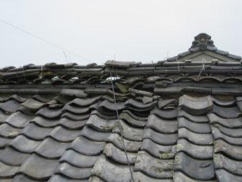 棟瓦崩壊,建物倒壊,耐久性低下