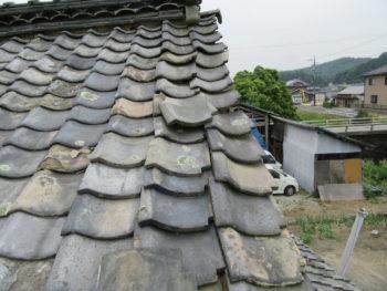 瓦の落下,雨漏り原因,瓦の葺き替え