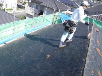 下地点検,屋根掃除,雨漏り調査
