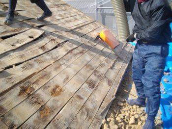 野地板の腐食,屋根の掃除,屋根の軽量化