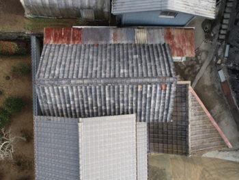 ドローン撮影,屋根点検,福山市