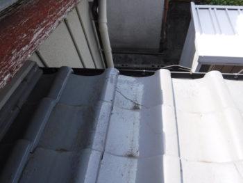 割れた瓦の交換,応急処置,劣化瓦