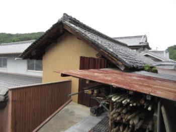 倉庫の屋根,老朽化,屋根下地の傷み