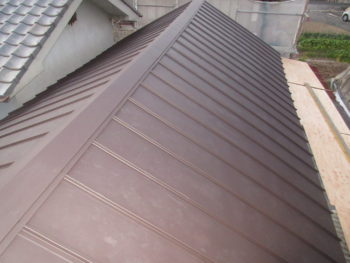 屋根の軽量化,ガルバリウム,ワンタッチ333
