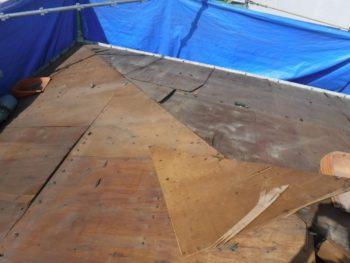 下地板腐食,重量オーバー,ベニヤ板