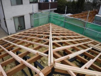 下地補強,棟木設置,ガイドライン工法