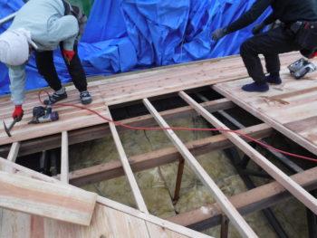下地補修,屋根板張替,雨漏り防止