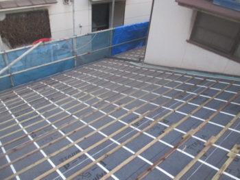 ガイドライン工法,ゴム改質ルーフィング,軽量屋根