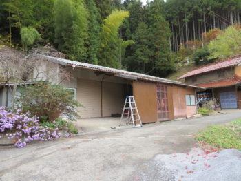 樋詰まり,倉庫屋根の葺き替え,現場調査