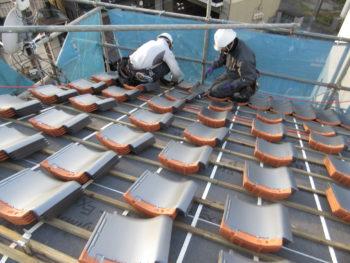 軽量屋根,ガイドライン工法,福山市