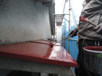 板金塗装,庇板金交換,錆止め