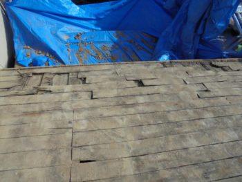 下地板補修,耐震性向上,軽量屋根