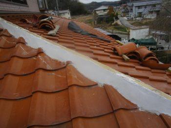 なんばん漆喰,防水性,棟瓦固定