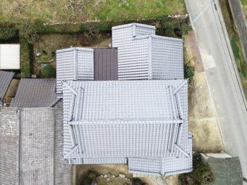 パネル写真,上空撮影,藤井製瓦工業