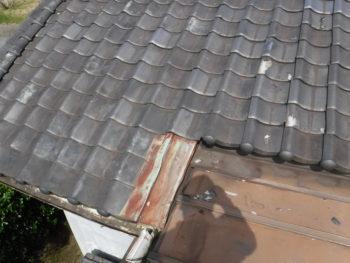 板金屋根,板金のサビ,瓦棒塗装