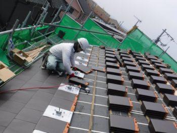 太陽光パネル設置工事,支持金具,