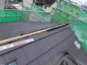 棟木,なんばん漆喰,雨漏り防止